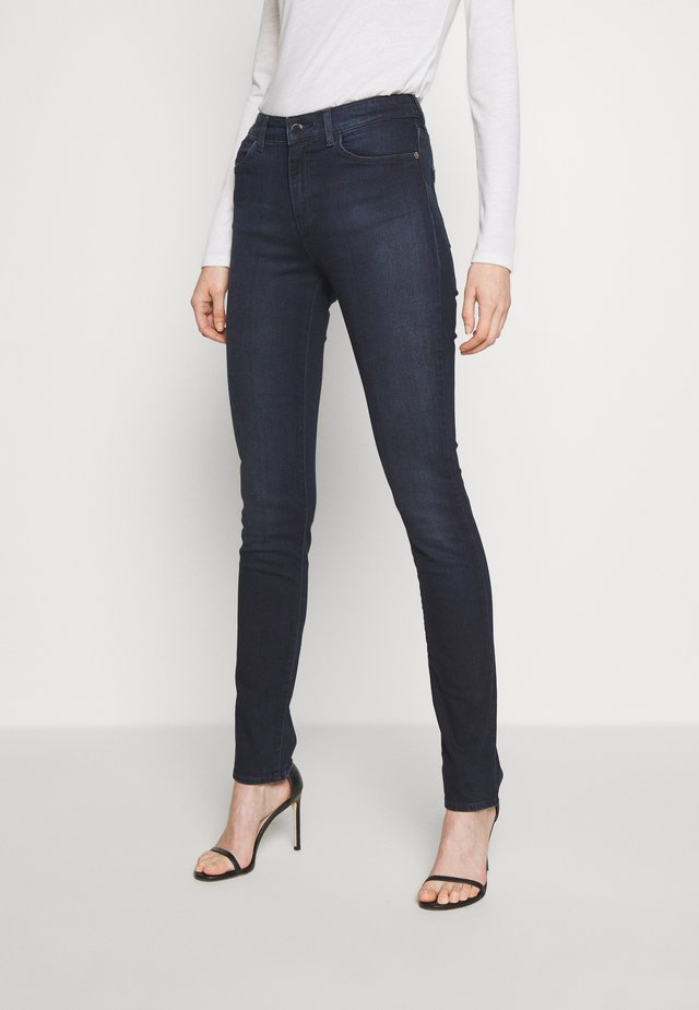 POCKETS PANT - Skinny džíny - dark blue denim