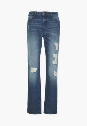POCKETS PANT - Jeans baggy - blue denim
