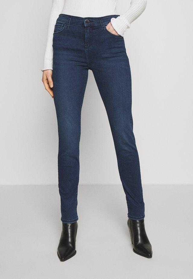 PANT - Jeansy Skinny Fit - blue denim