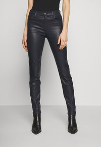 Emporio Armani - 5 POCKETS PANT - Slim fit jeans - black - 0