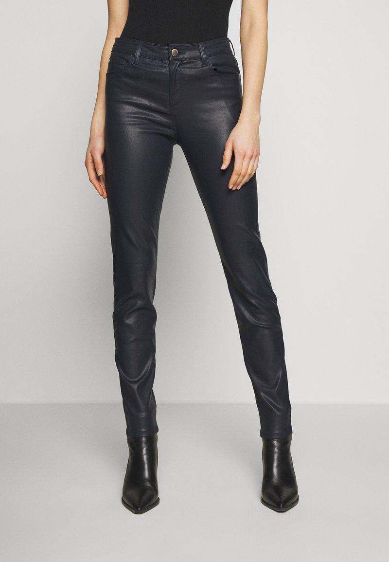 Emporio Armani - 5 POCKETS PANT - Slim fit jeans - black