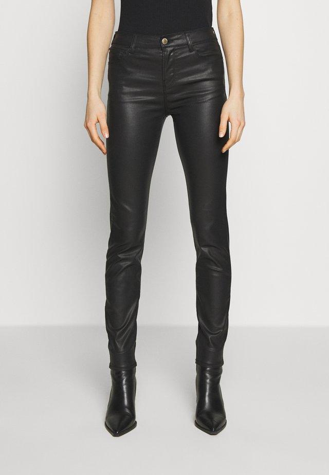 5 POCKETS PANT - Slim fit jeans - nero