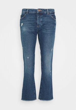 5 POCKETS PANT - Džíny Slim Fit - blue denim