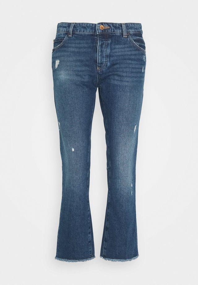 5 POCKETS PANT - Jeansy Slim Fit - blue denim