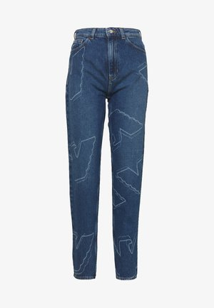 FIVE POCKETS PANT - Jeans baggy - blue denim