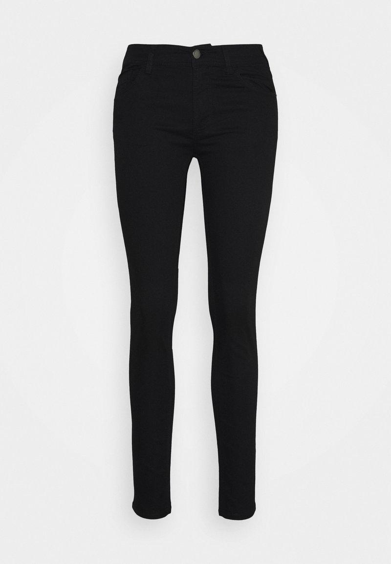 Emporio Armani - POCKETS PANT - Jeans slim fit - denim nero