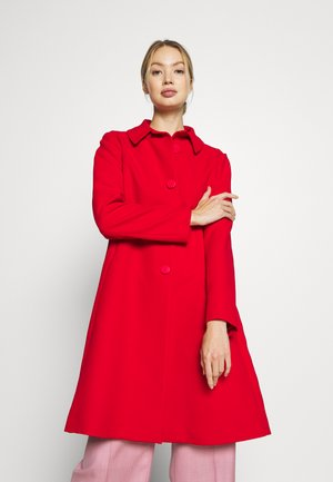 COAT - Classic coat - red