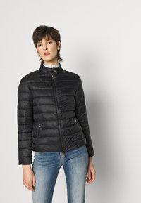 Emporio Armani - BLOUSON JACKET - Light jacket - nero - 0