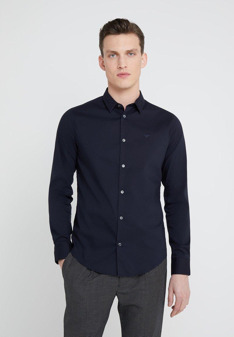 Emporio Armani - Koszula biznesowa - dark blue