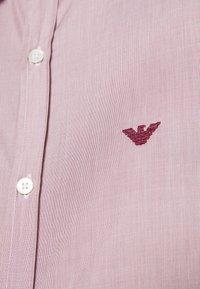 Emporio Armani - Camicia elegante - bordeaux - 4