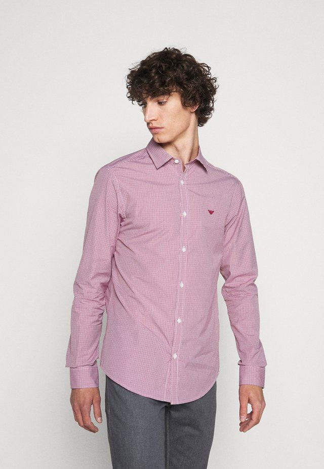 Koszula biznesowa - red