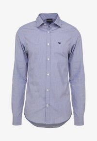 Emporio Armani - Camisa elegante - dark blue - 3