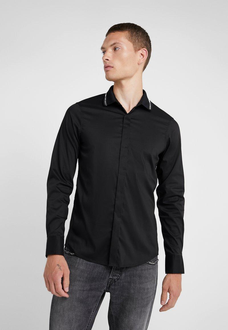 Emporio Armani - CAMICIA - Shirt - nero