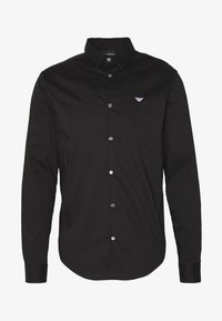 Emporio Armani - EXCLUSIVE CONTRAST LOGO - Shirt - black - 4