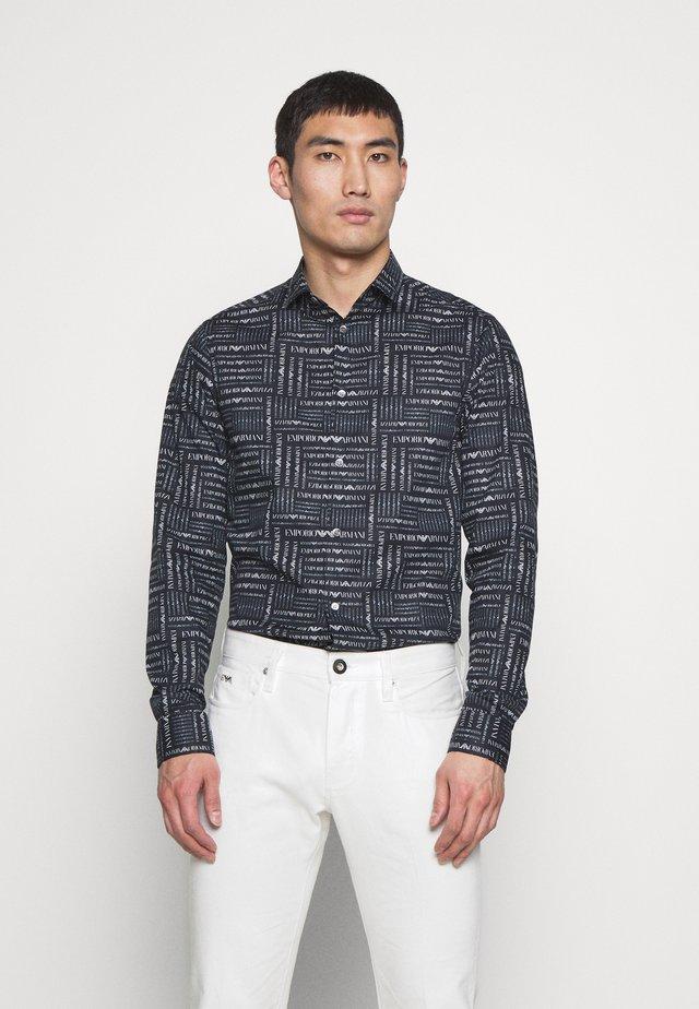 CAMICIA TESSUTO - Shirt - black