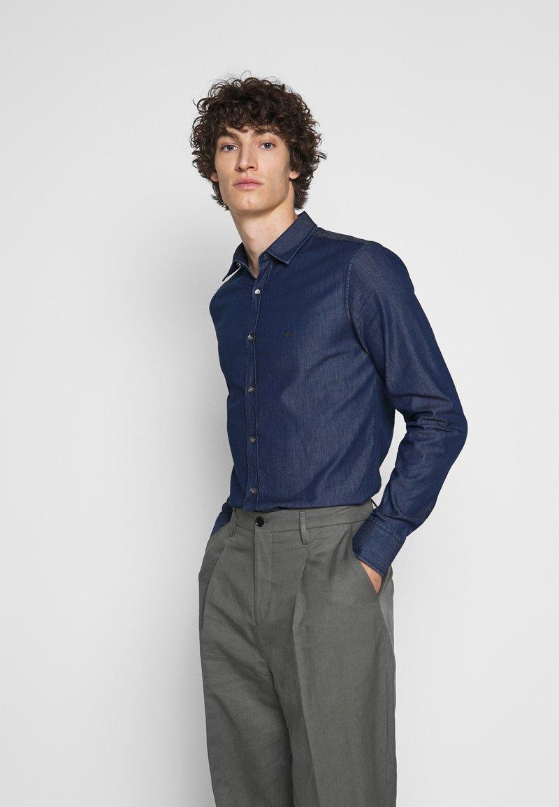 Emporio Armani - Camicia - blue denim