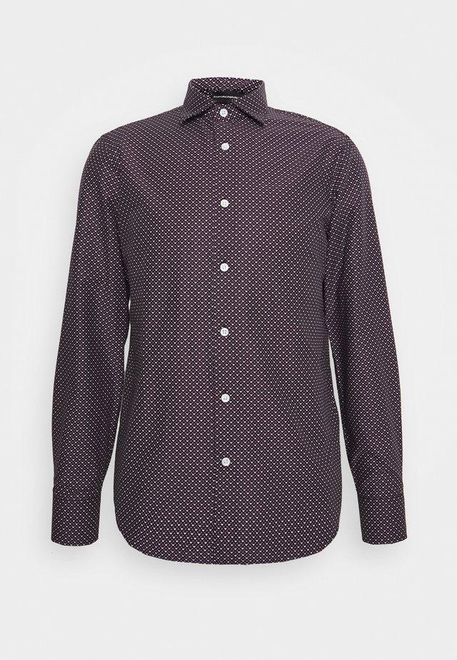 Koszula biznesowa - black/red