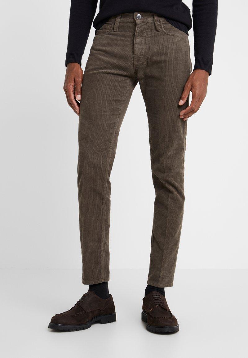 Emporio Armani - Pantalones - greige