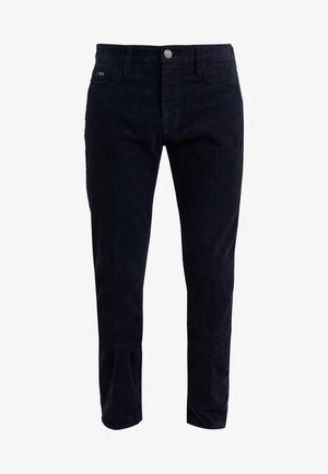 Pantalon classique - blu navy