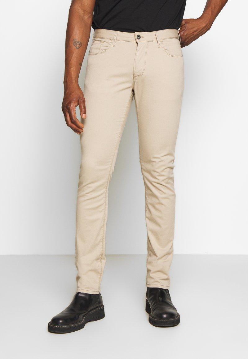 Emporio Armani - TESSUTO - Pantalon classique - beige