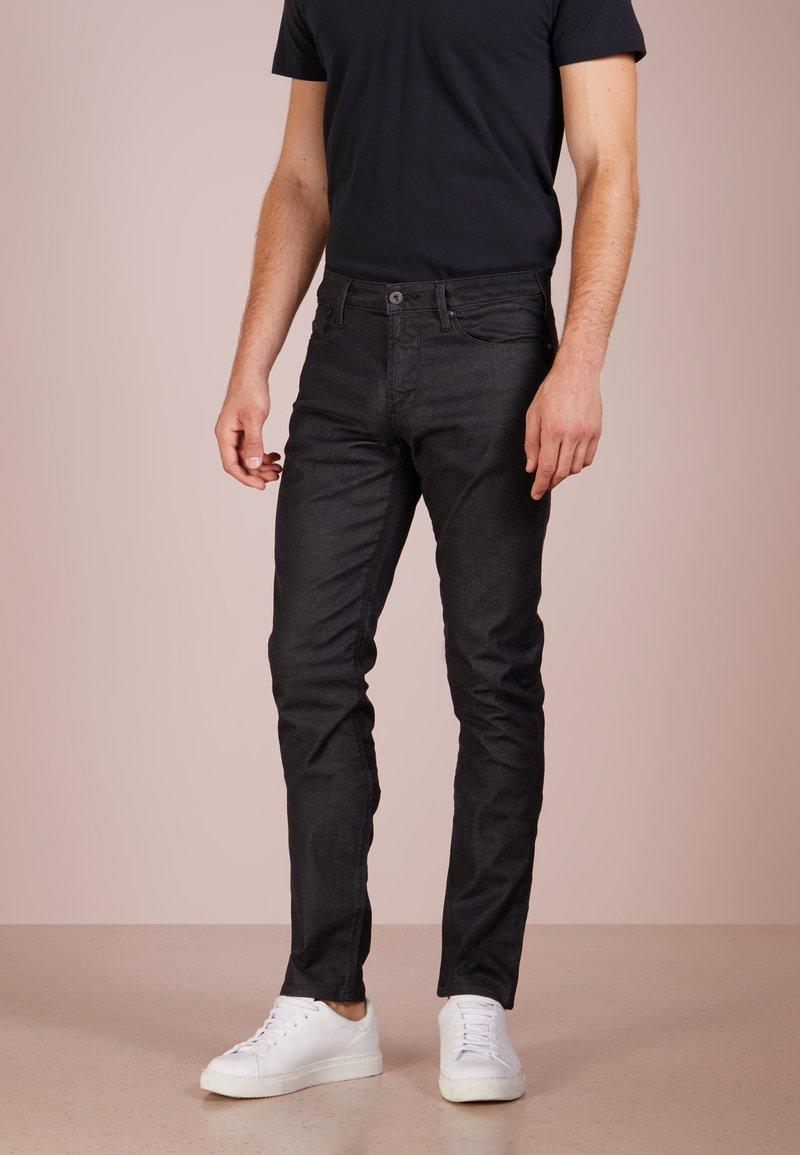 Emporio Armani - Jeans Slim Fit - denim nero