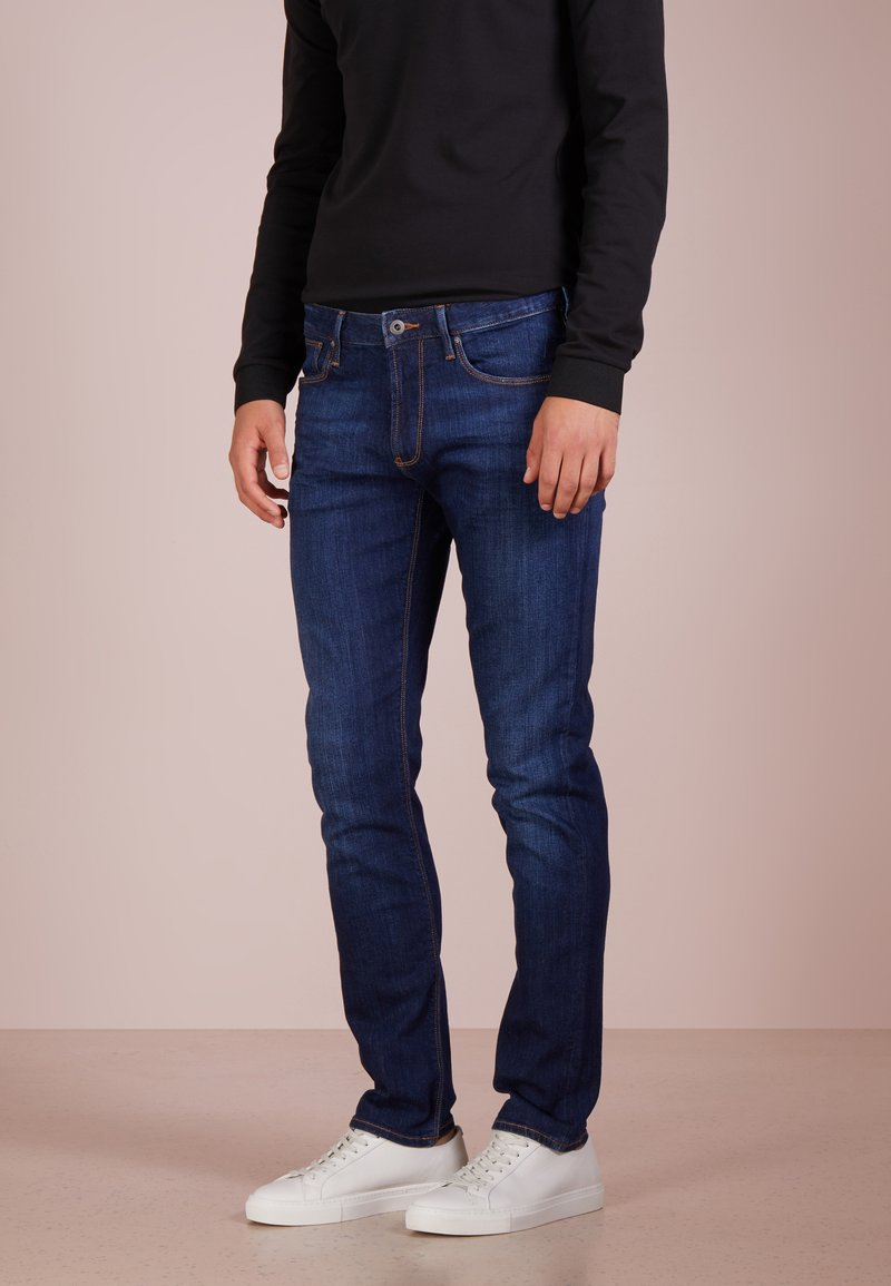 Emporio Armani - Jean slim - denim blu