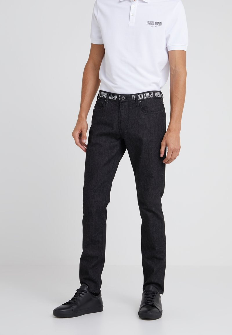 Emporio Armani - Jeans Slim Fit - black denim
