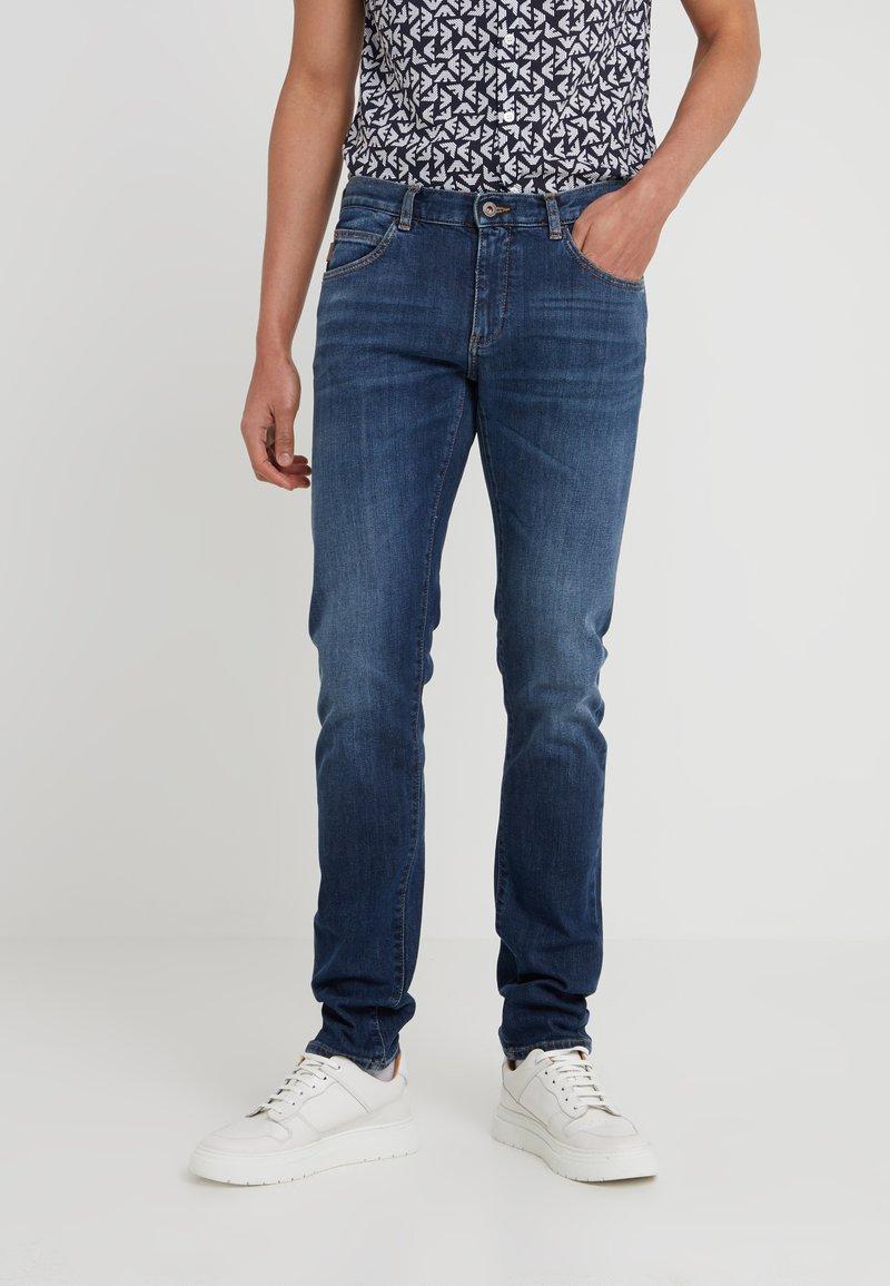 Emporio Armani - Slim fit jeans - blue denim