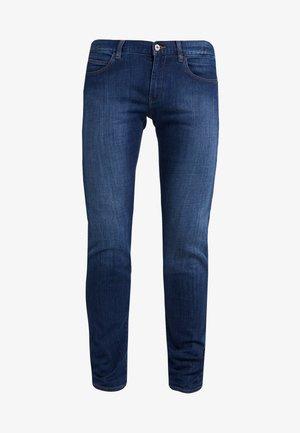 Jeansy Skinny Fit - blue denim