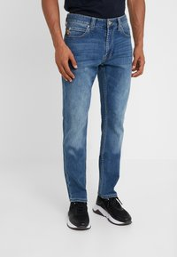 Emporio Armani - Džíny Straight Fit - denim blue - 0