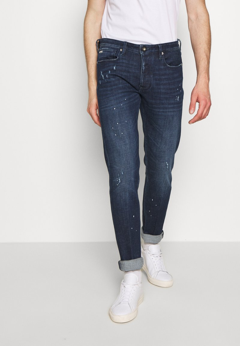 Emporio Armani - Jean slim - denim blue