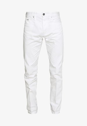TASCHE TESSUTO - Slim fit jeans - bianco neve
