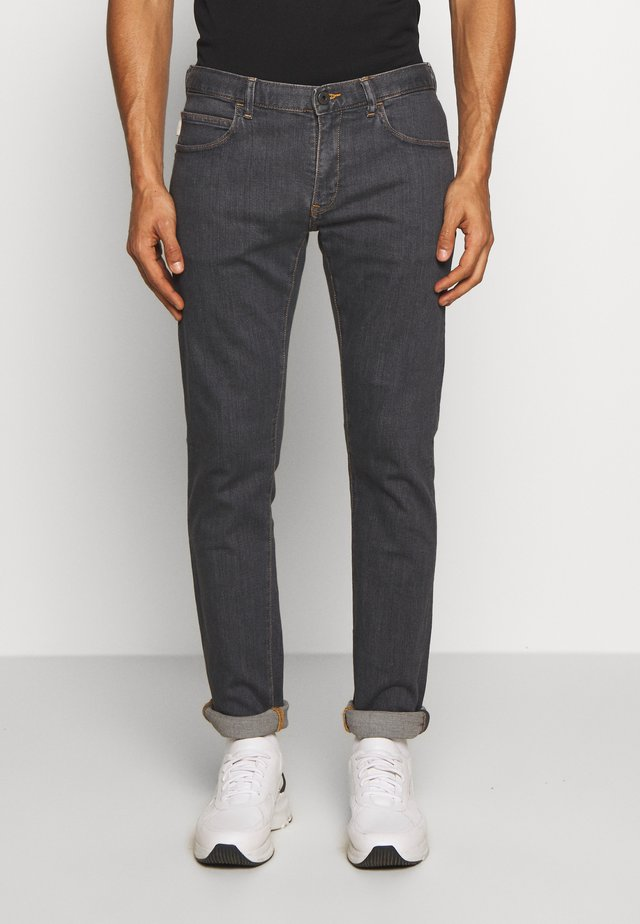 Jeansy Slim Fit - denim grigio