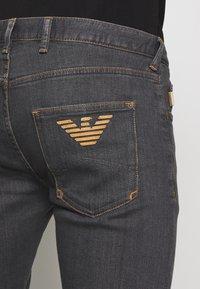 Emporio Armani - Jeans slim fit - denim grigio - 5