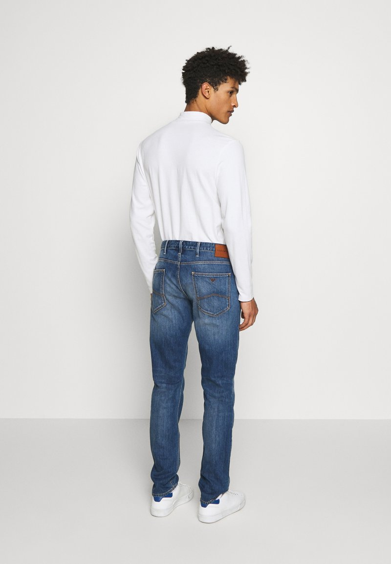 Emporio Armani - Slim fit jeans - blue denim