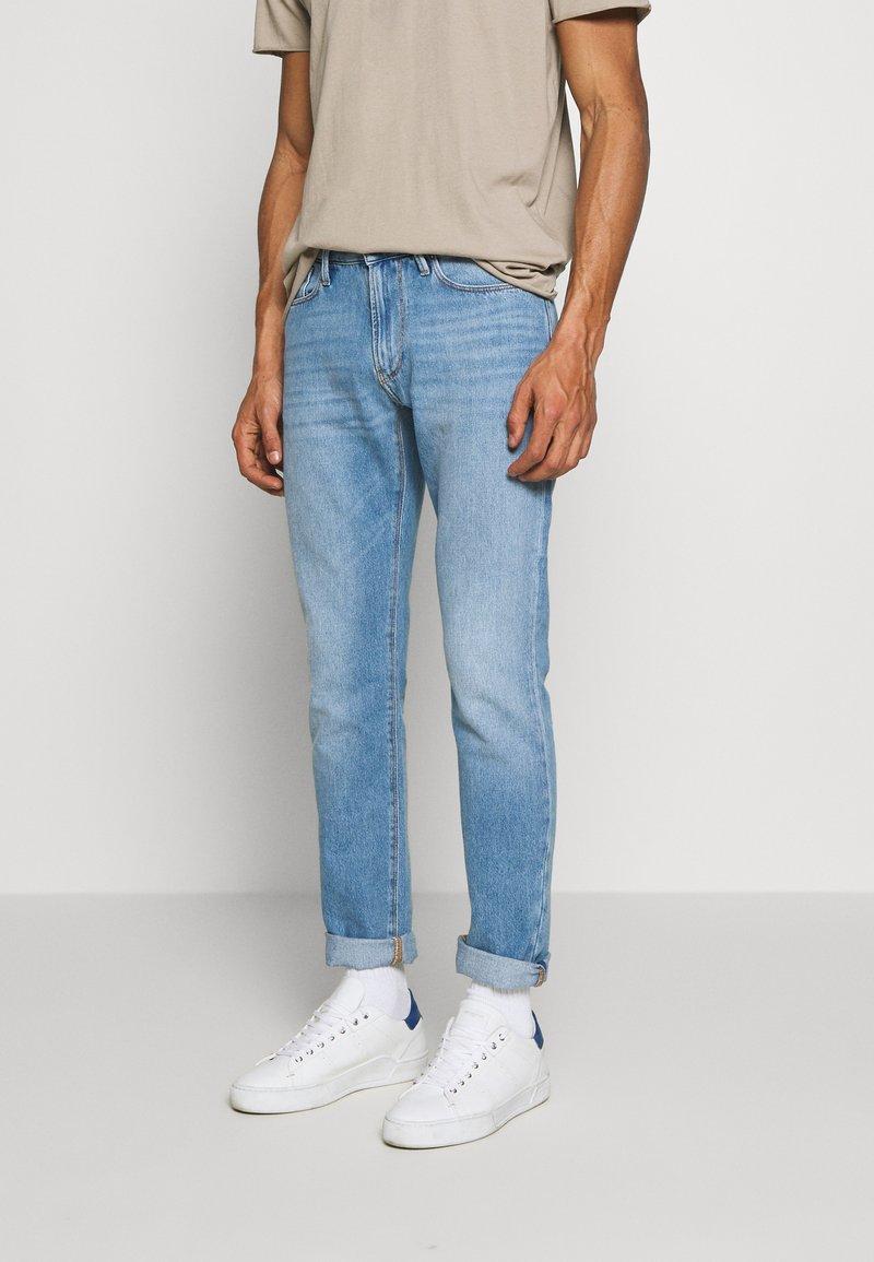 Emporio Armani - Slim fit jeans - denim blu