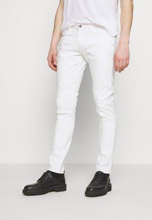 TESSUTO - Jean slim - bianco ottico