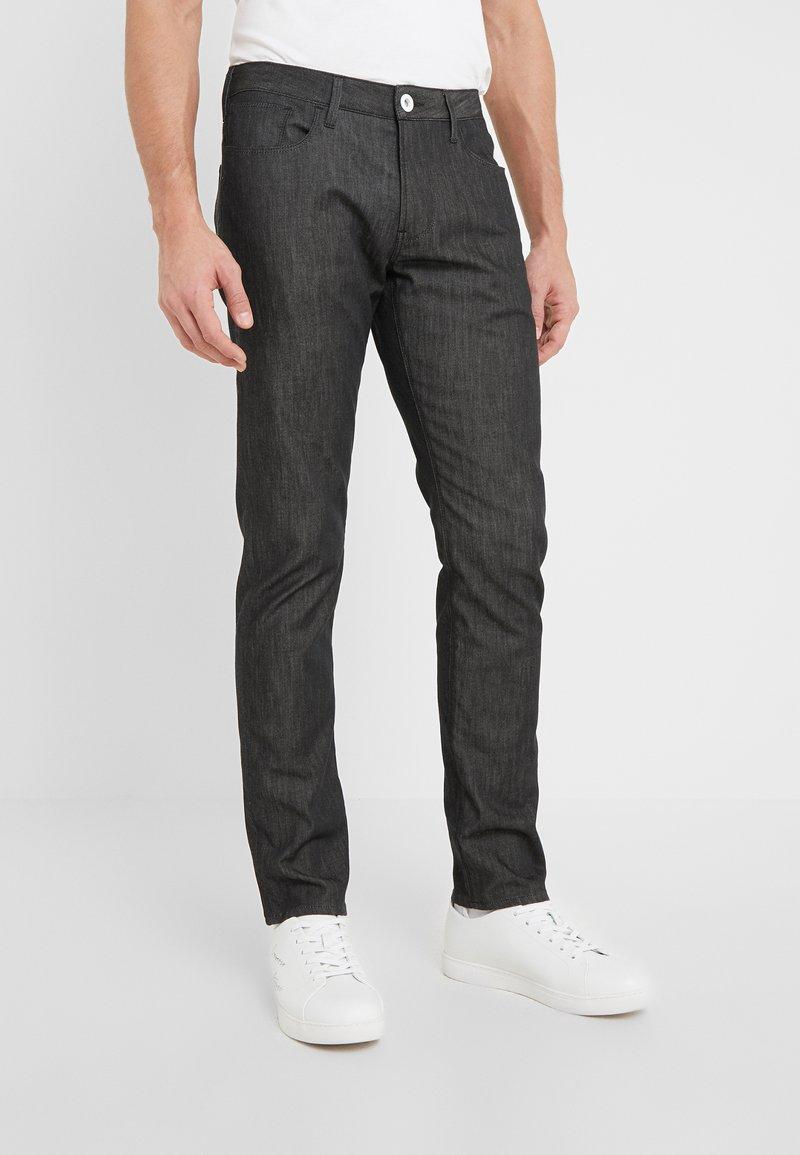 Emporio Armani - Jean slim - black