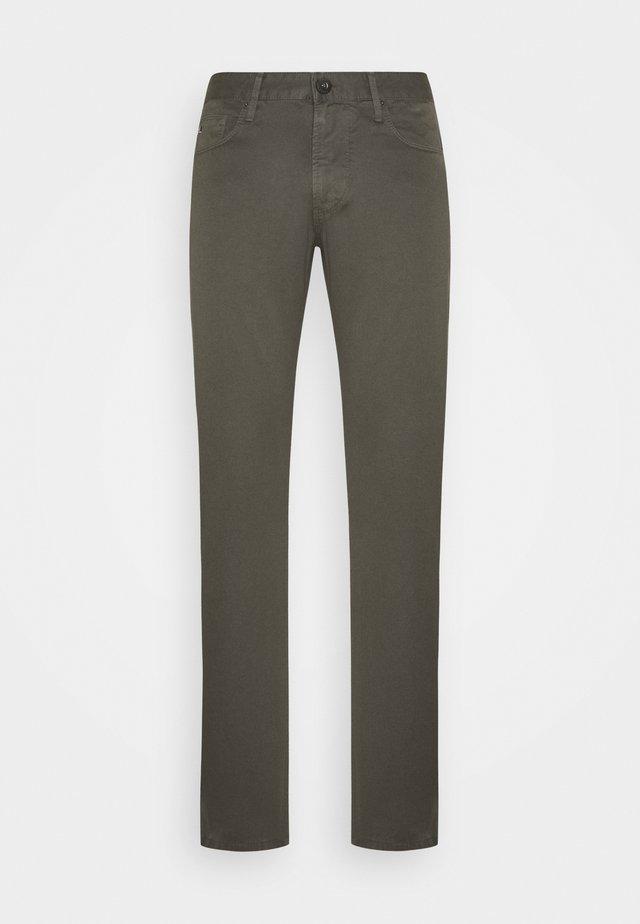 Jeans slim fit - dark green
