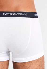 Emporio Armani - STRETCH TRUNK 3 PACK - Shorty - white - 2