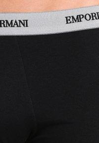 Emporio Armani - STRETCH TRUNK 3 PACK - Shorty - nero - 3