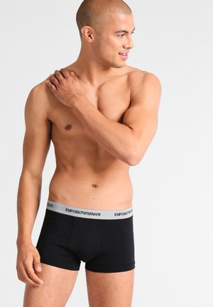 STRETCH TRUNK 3 PACK - Pants - nero