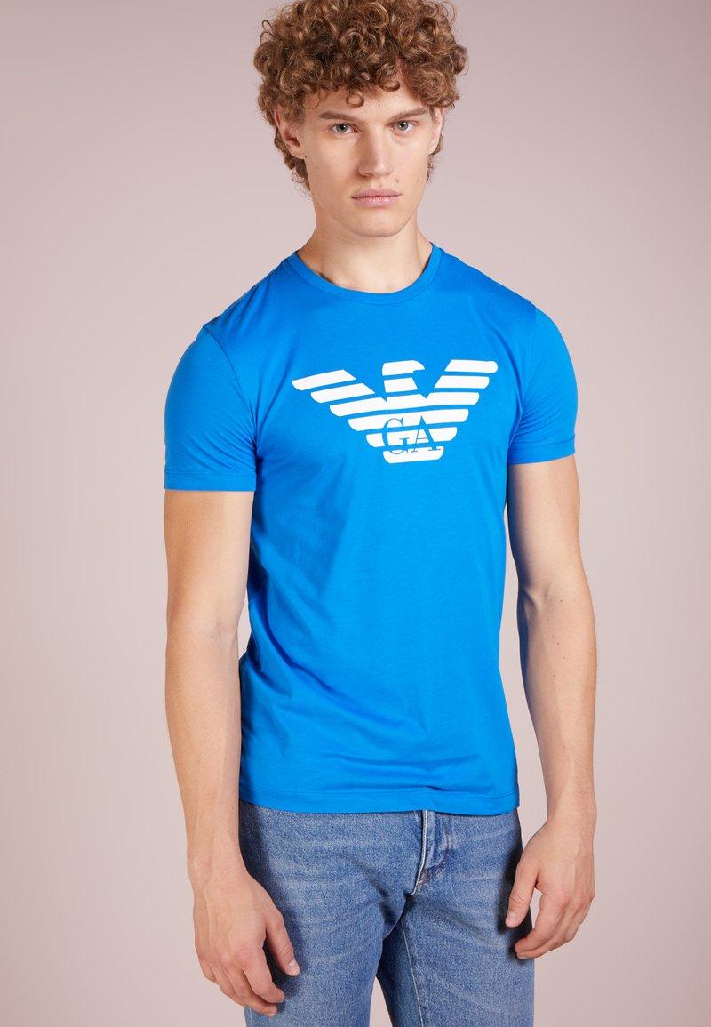 Emporio Armani - T-shirt print - bluette
