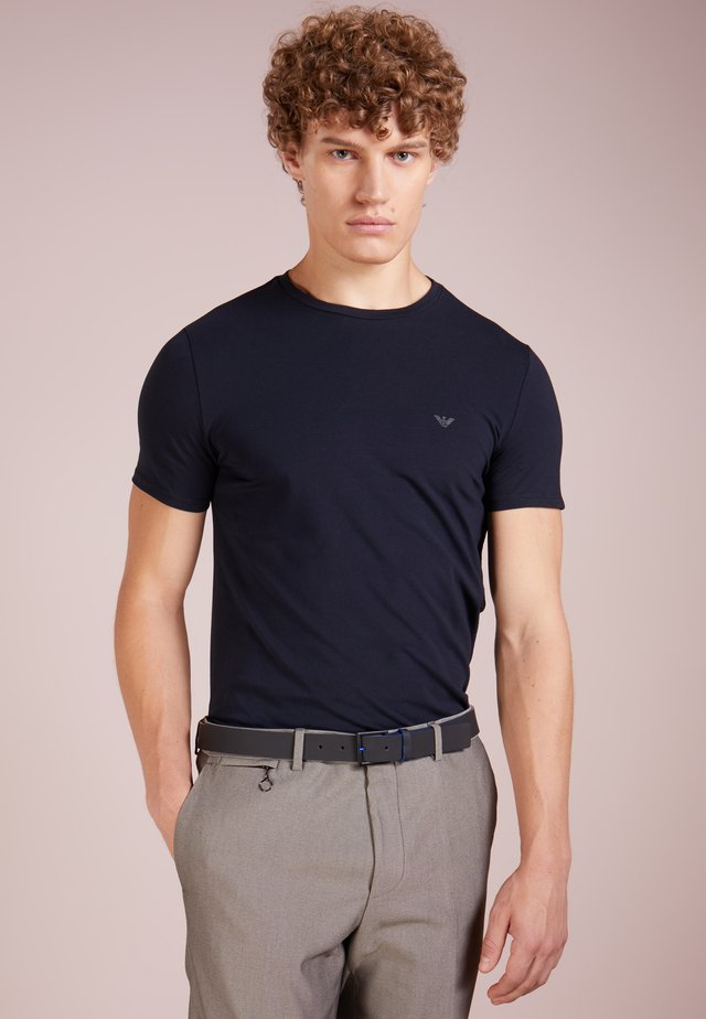 Basic T-shirt - blu scuro