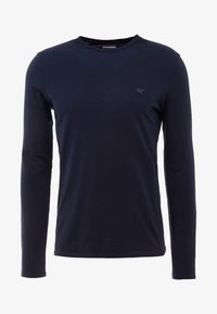 Emporio Armani - T-shirt à manches longues - blu scuro - 3