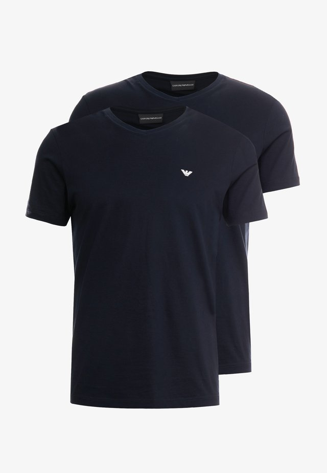 2 PACK - T-shirts basic - dark blue