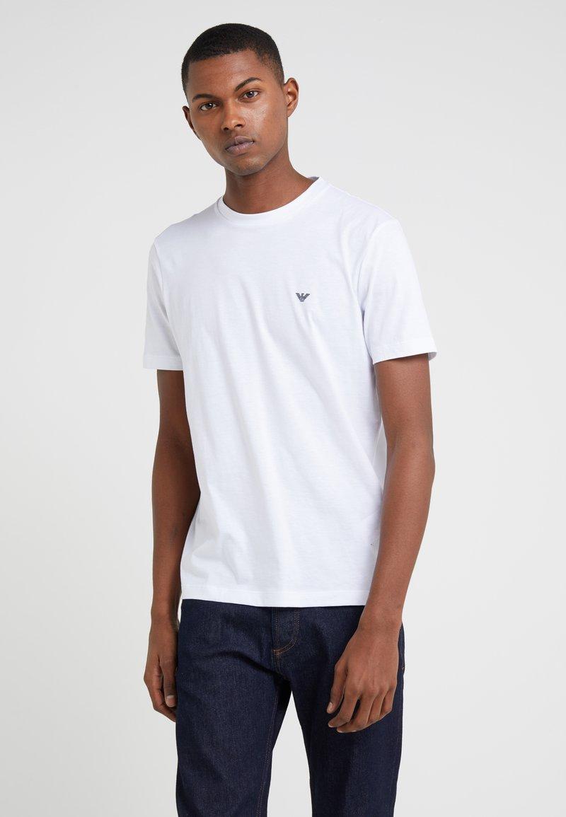 Emporio Armani - 2 PACK - T-shirt basic - white