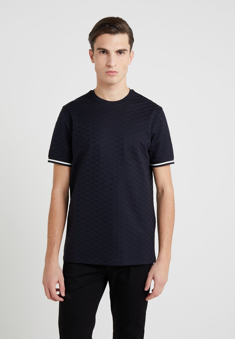 Emporio Armani - T-Shirt print - dark blue