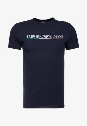 T-shirts print - blu navy