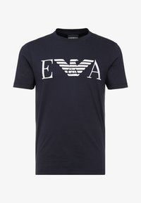 Emporio Armani - Camiseta estampada - dark blue - 3